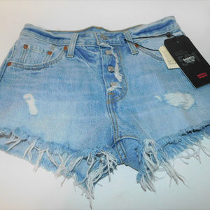 NWT Levis Premium High Rise Shorts size 25
